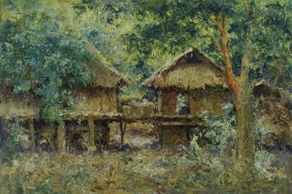 Tuman Zhumabaev - họa sĩ Nga mê Việt Nam đắm đuối - qua đời - Ảnh 9.