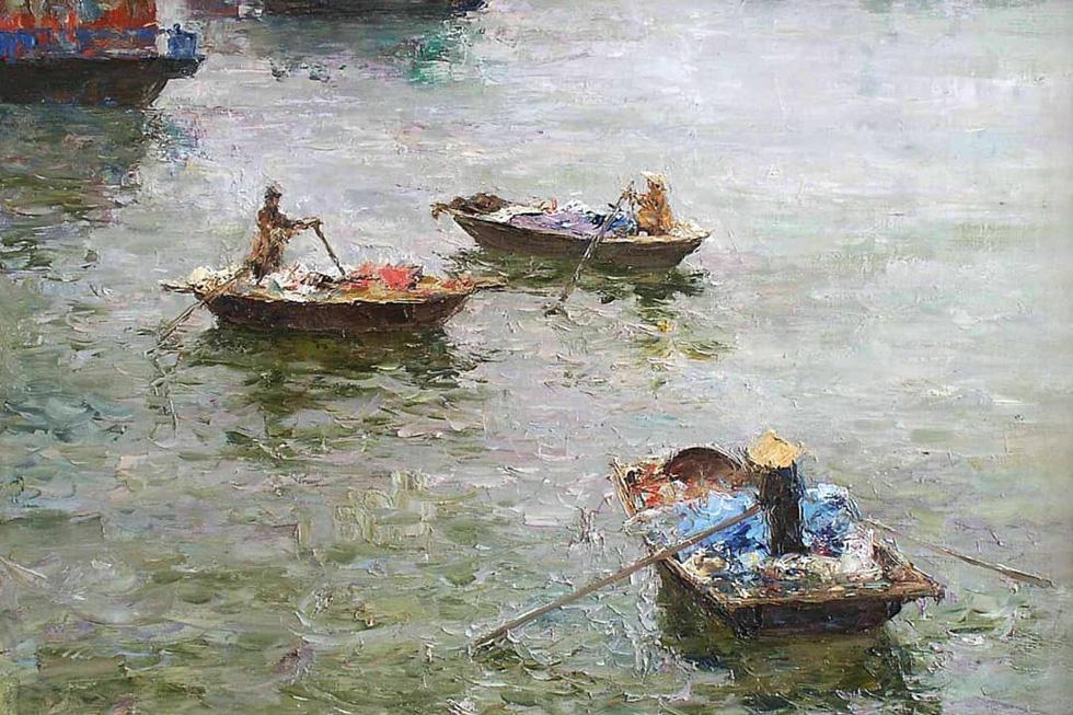 Tuman Zhumabaev - họa sĩ Nga mê Việt Nam đắm đuối - qua đời - Ảnh 10.