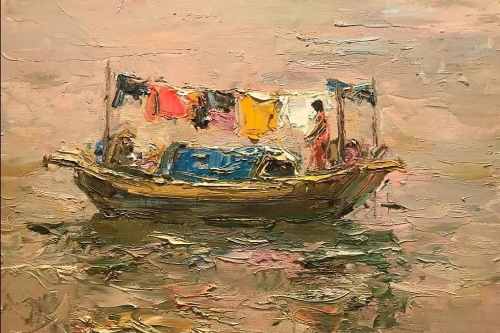 Tuman Zhumabaev - họa sĩ Nga mê Việt Nam đắm đuối - qua đời - Ảnh 11.