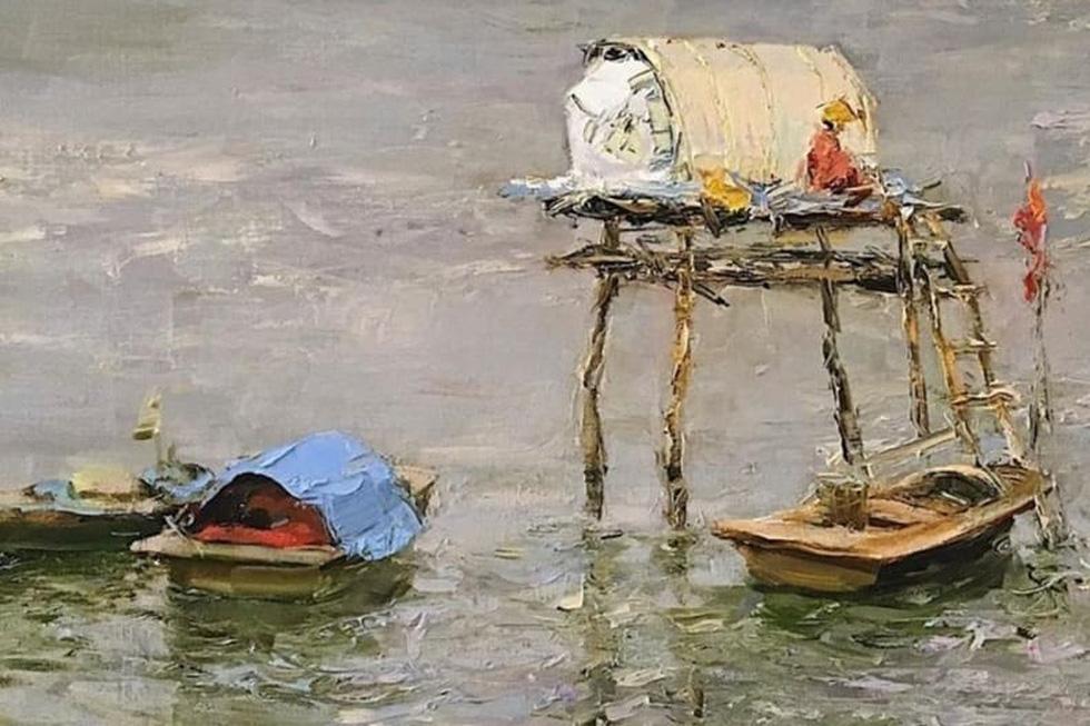 Tuman Zhumabaev - họa sĩ Nga mê Việt Nam đắm đuối - qua đời - Ảnh 12.