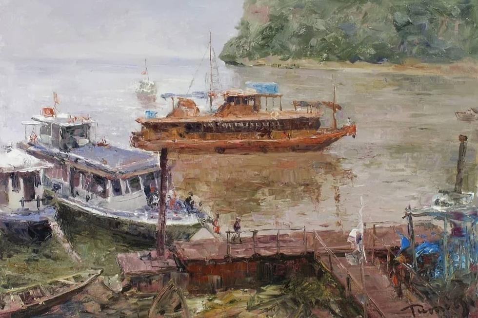 Tuman Zhumabaev - họa sĩ Nga mê Việt Nam đắm đuối - qua đời - Ảnh 13.