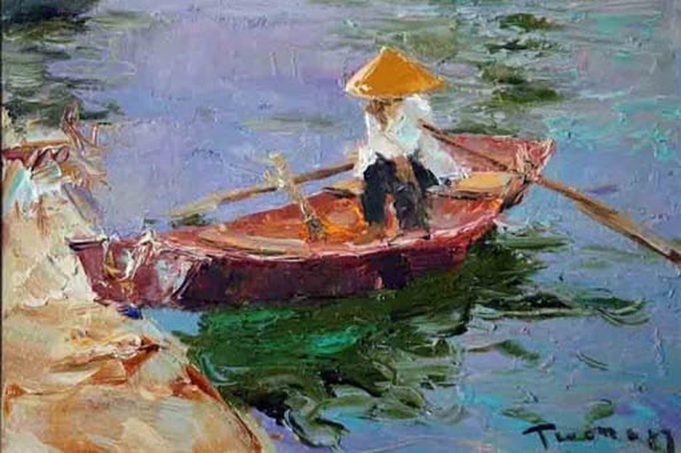 Tuman Zhumabaev - họa sĩ Nga mê Việt Nam đắm đuối - qua đời - Ảnh 14.