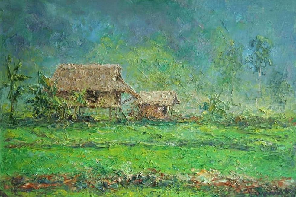 Tuman Zhumabaev - họa sĩ Nga mê Việt Nam đắm đuối - qua đời - Ảnh 15.