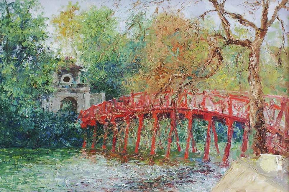 Tuman Zhumabaev - họa sĩ Nga mê Việt Nam đắm đuối - qua đời - Ảnh 16.
