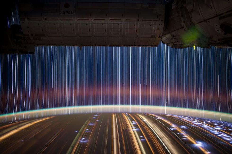 Ngắm sao tuyệt đẹp từ Trạm vũ trụ quốc tế - Ảnh 4.