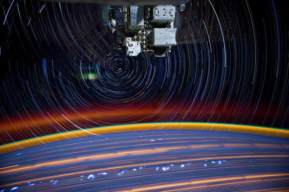 Ngắm sao tuyệt đẹp từ Trạm vũ trụ quốc tế - Ảnh 1.