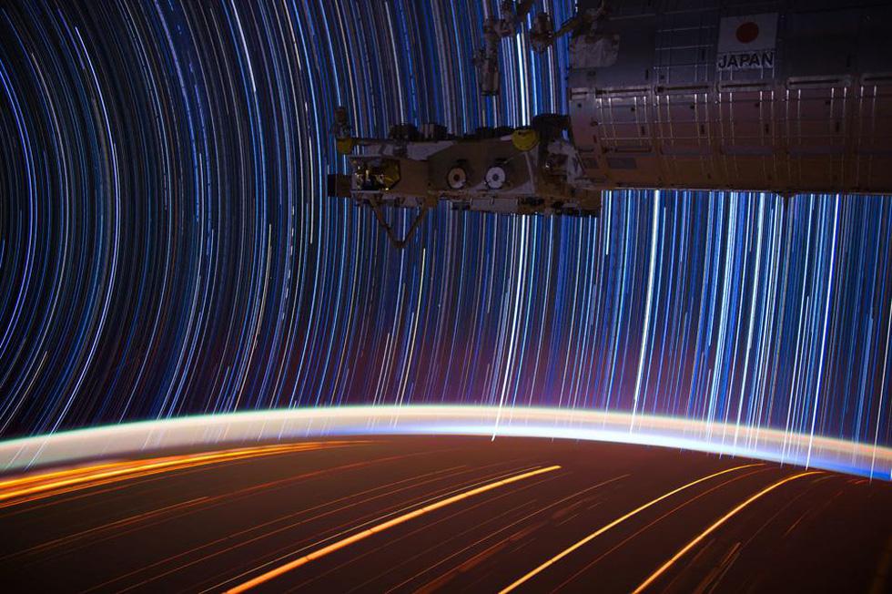 Ngắm sao tuyệt đẹp từ Trạm vũ trụ quốc tế - Ảnh 6.