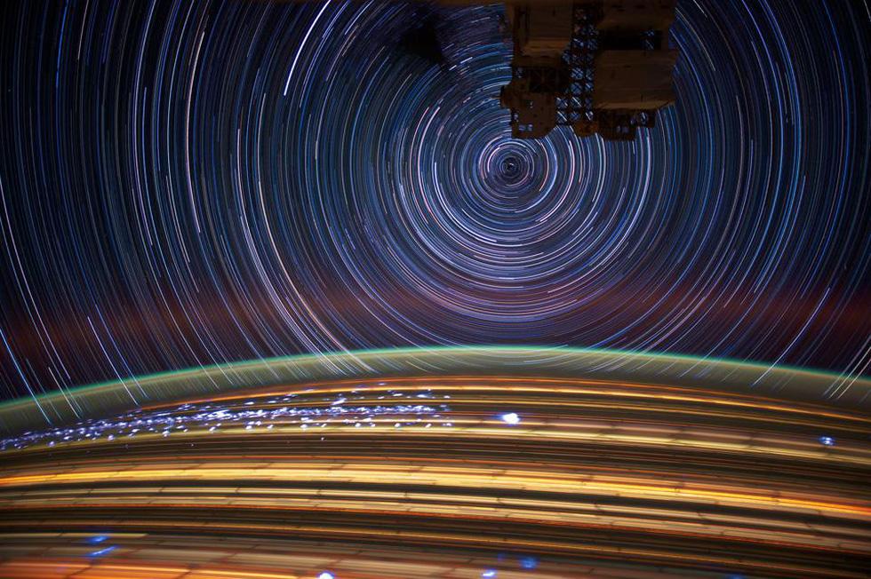 Ngắm sao tuyệt đẹp từ Trạm vũ trụ quốc tế - Ảnh 9.