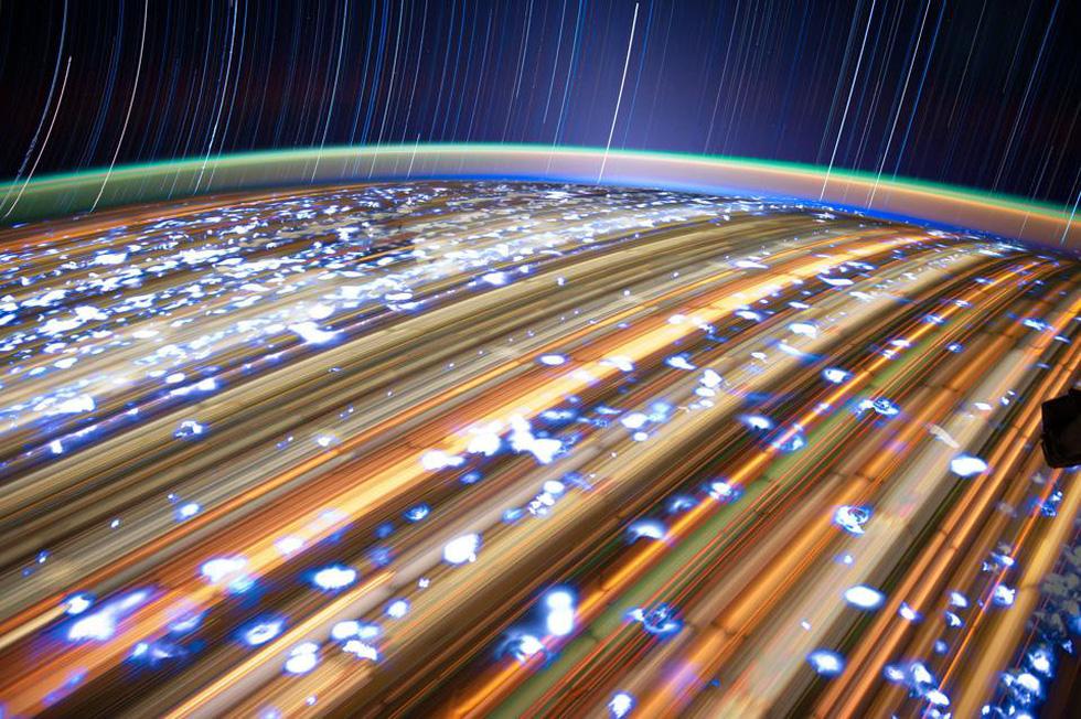 Ngắm sao tuyệt đẹp từ Trạm vũ trụ quốc tế - Ảnh 7.