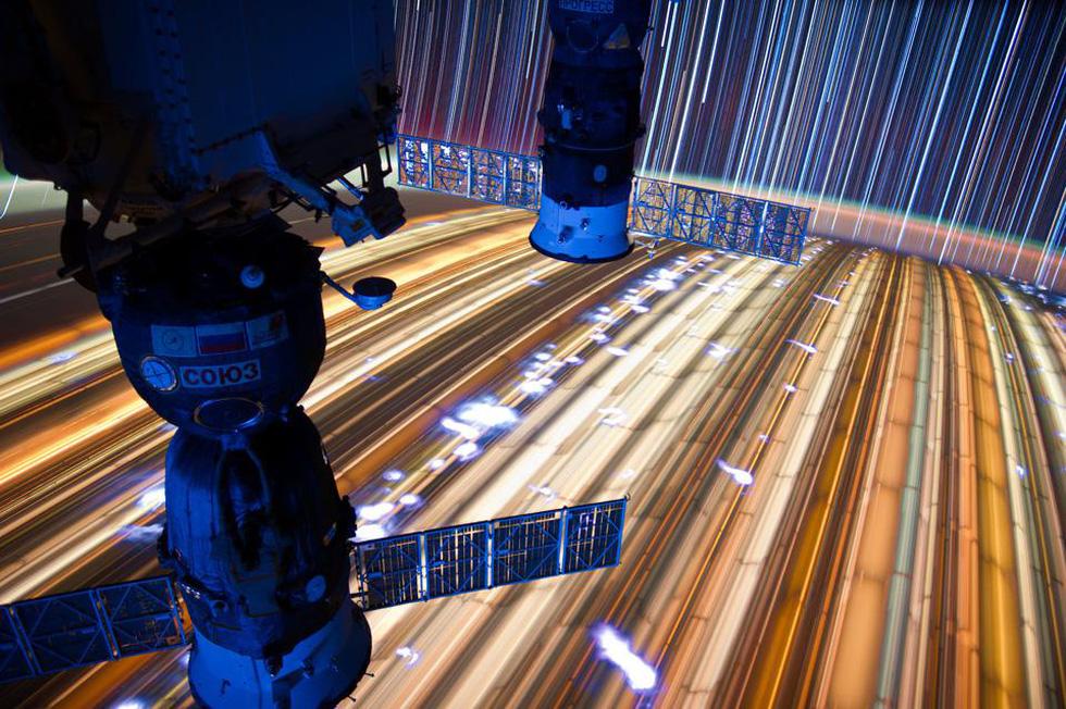 Ngắm sao tuyệt đẹp từ Trạm vũ trụ quốc tế - Ảnh 3.