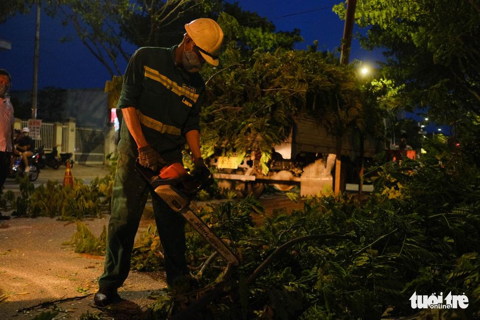 Đà Nẵng khẩn trương cắt tỉa cây xanh trước giờ bão số 5 đổ bộ - Ảnh 5.