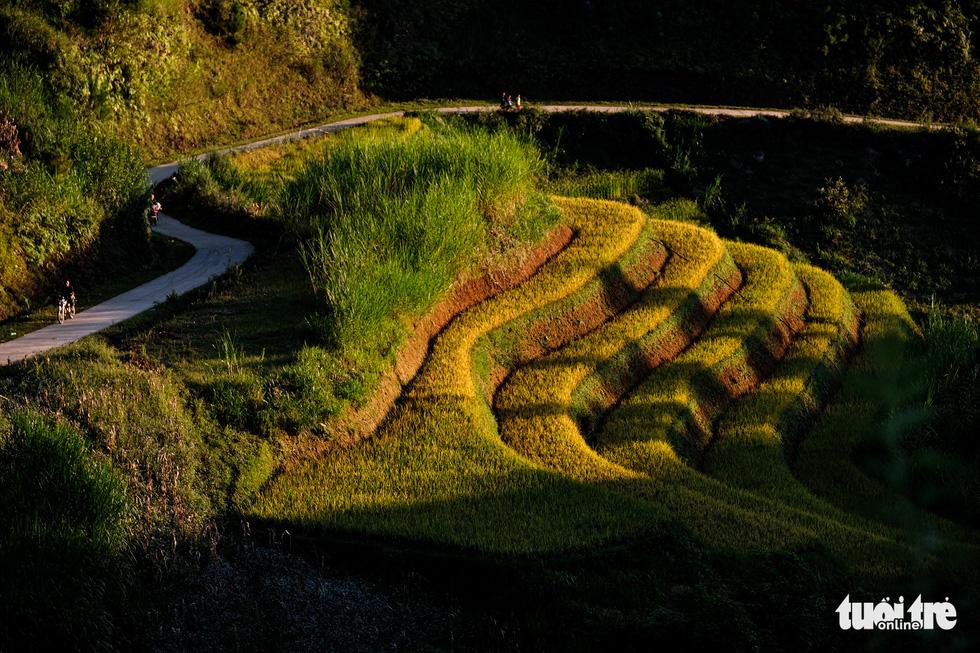 Đuổi theo mặt trời ngắm ruộng bậc thang đẹp như tranh vẽ - Ảnh 9.