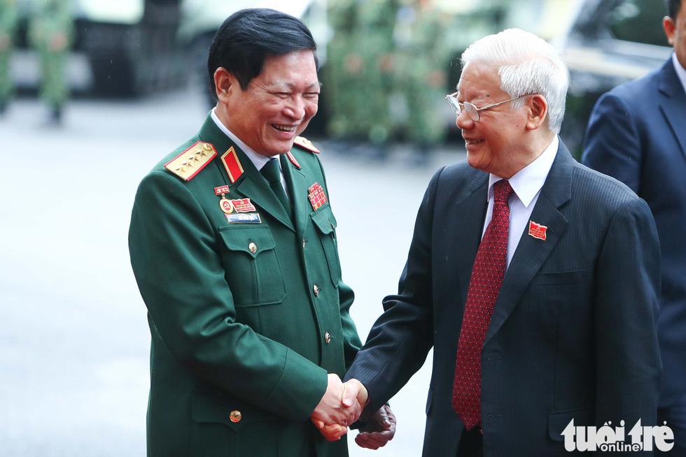 Những hình ảnh khó quên tại Đại hội Đại biểu Đảng bộ Quân đội - Ảnh 2.