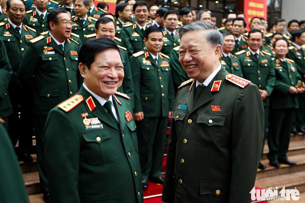 Những hình ảnh khó quên tại Đại hội Đại biểu Đảng bộ Quân đội - Ảnh 11.