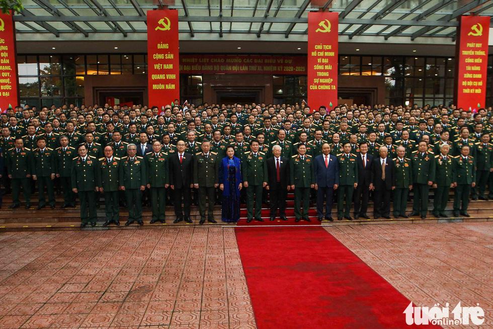 Những hình ảnh khó quên tại Đại hội Đại biểu Đảng bộ Quân đội - Ảnh 13.