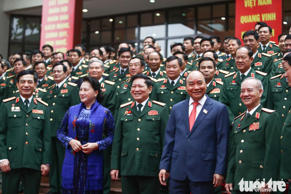 Những hình ảnh khó quên tại Đại hội Đại biểu Đảng bộ Quân đội - Ảnh 3.