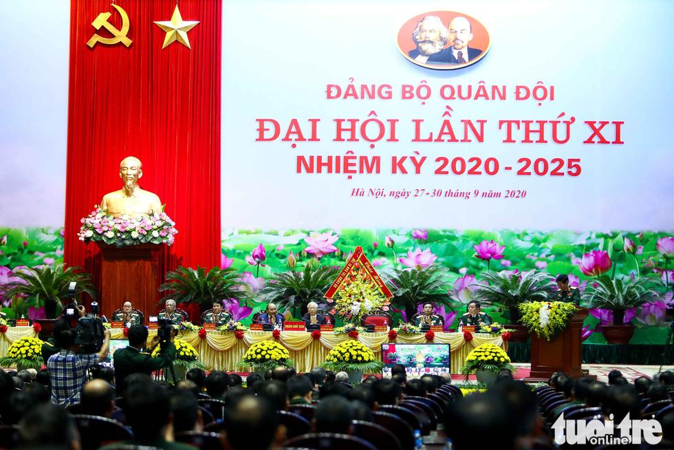 Những hình ảnh khó quên tại Đại hội Đại biểu Đảng bộ Quân đội - Ảnh 19.