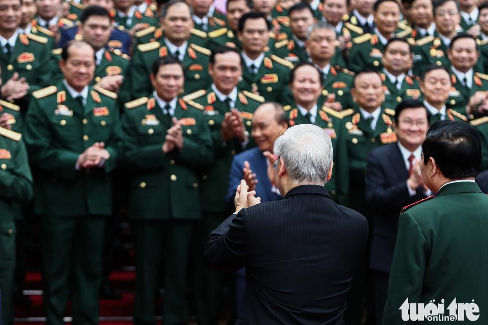 Những hình ảnh khó quên tại Đại hội Đại biểu Đảng bộ Quân đội - Ảnh 5.