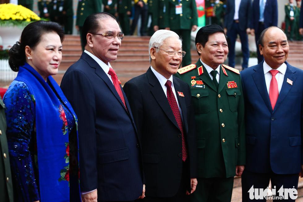 Những hình ảnh khó quên tại Đại hội Đại biểu Đảng bộ Quân đội - Ảnh 6.