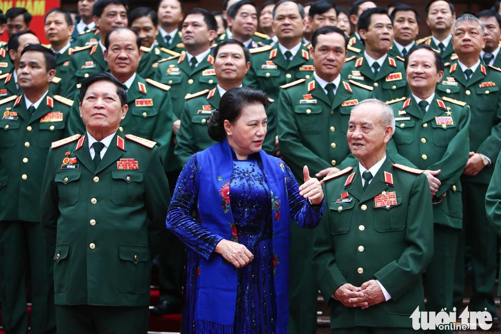 Những hình ảnh khó quên tại Đại hội Đại biểu Đảng bộ Quân đội - Ảnh 10.