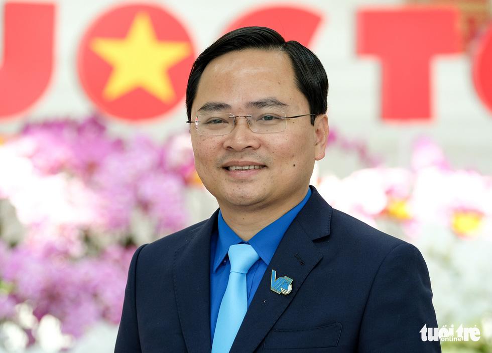 Anh Nguyễn Anh Tuấn được bầu làm bí thư thứ nhất Trung ương Đoàn - Ảnh 1.