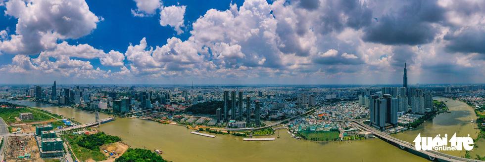 Ngắm Sài Gòn - thành phố hoa lệ bên những dòng sông - Ảnh 3.