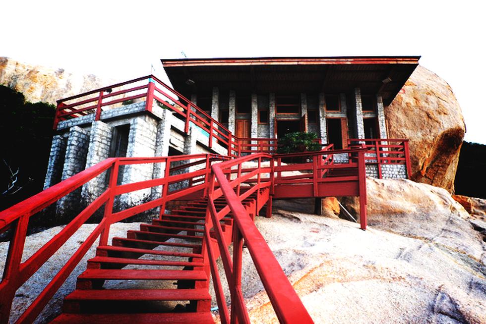 Ngắm ngôi nhà Anh hùng xây trên vách đá Ninh Thuận - Ảnh 7.