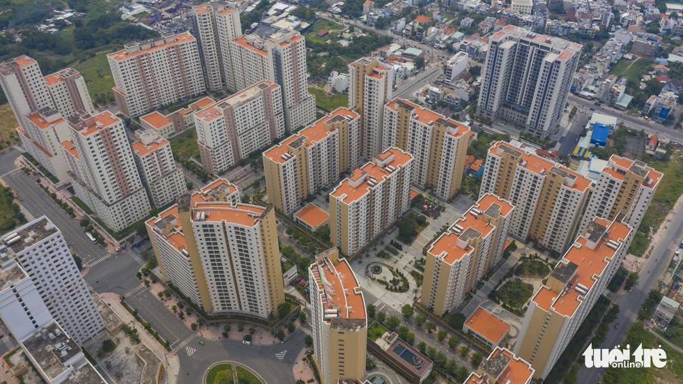 Cận cảnh những khu tái định cư rất ít người... tái định cư ở TP.HCM - Ảnh 6.