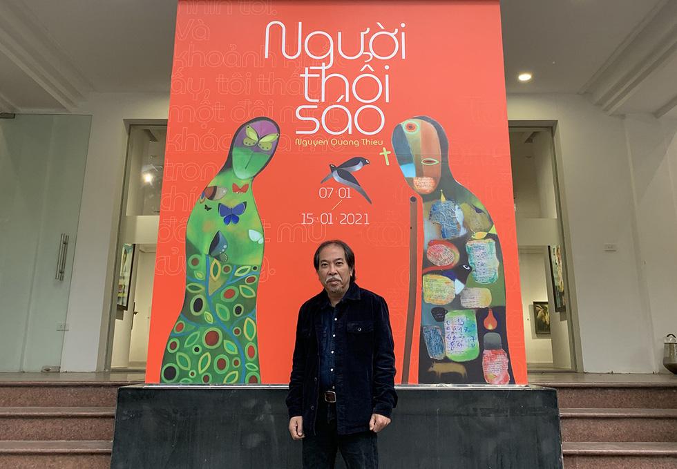 Chủ tịch Hội Nhà văn Việt Nam Nguyễn Quang Thiều: Các nhà văn hãy viết thật mê đắm - Ảnh 5.