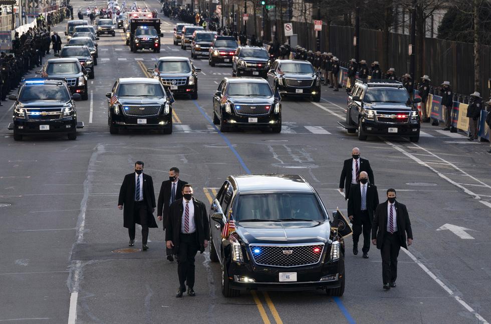 مروری بر مراسم تحلیف رئیس جمهور آمریکا ، بایدن از طریق عکس ها - عکس 14.