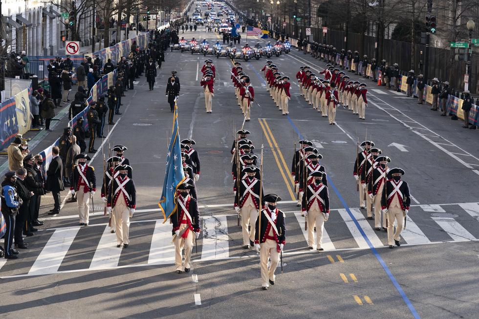 مروری بر مراسم تحلیف رئیس جمهور آمریکا ، بایدن از طریق عکس ها - عکس 15.