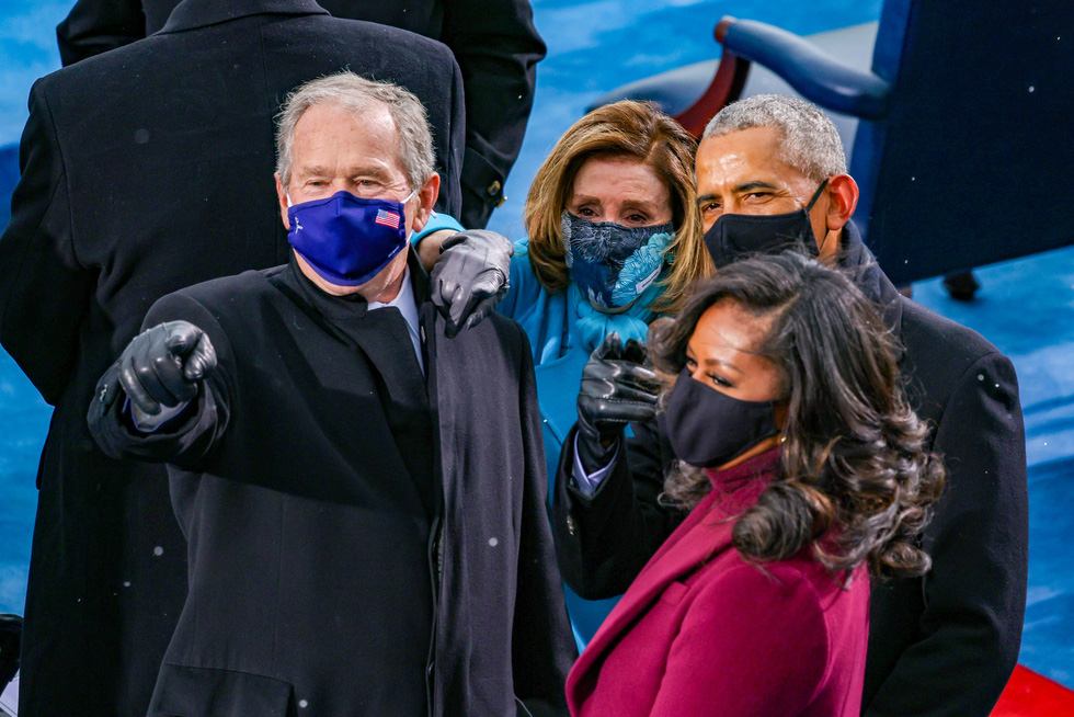 مروری بر مراسم تحلیف رئیس جمهور آمریکا ، بایدن از طریق عکس ها - عکس 4.