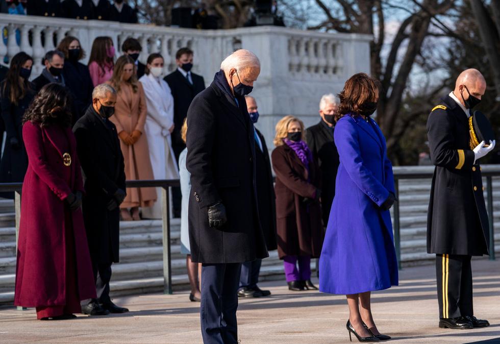 نمایی از مراسم تحلیف رئیس جمهور آمریکا ، بایدن از طریق عکس ها - عکس 13.