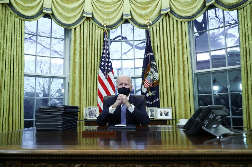 نمایی از مراسم تحلیف رئیس جمهور ایالات متحده جو بایدن از طریق عکس ها - عکس 18.