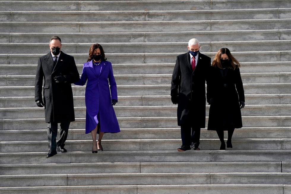 نمایی از مراسم تحلیف رئیس جمهور ایالات متحده جو بایدن از طریق عکس ها - عکس 12.