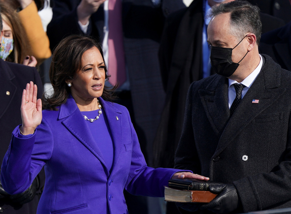 مروری بر مراسم تحلیف رئیس جمهور آمریکا ، بایدن از طریق عکس ها - عکس 8.