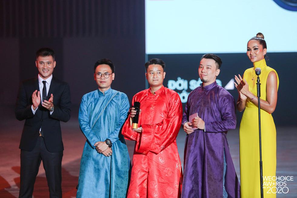 Thủy Tiên, Jack, MCK… được vinh danh tại WeChoice Awards 2020 - Ảnh 3.