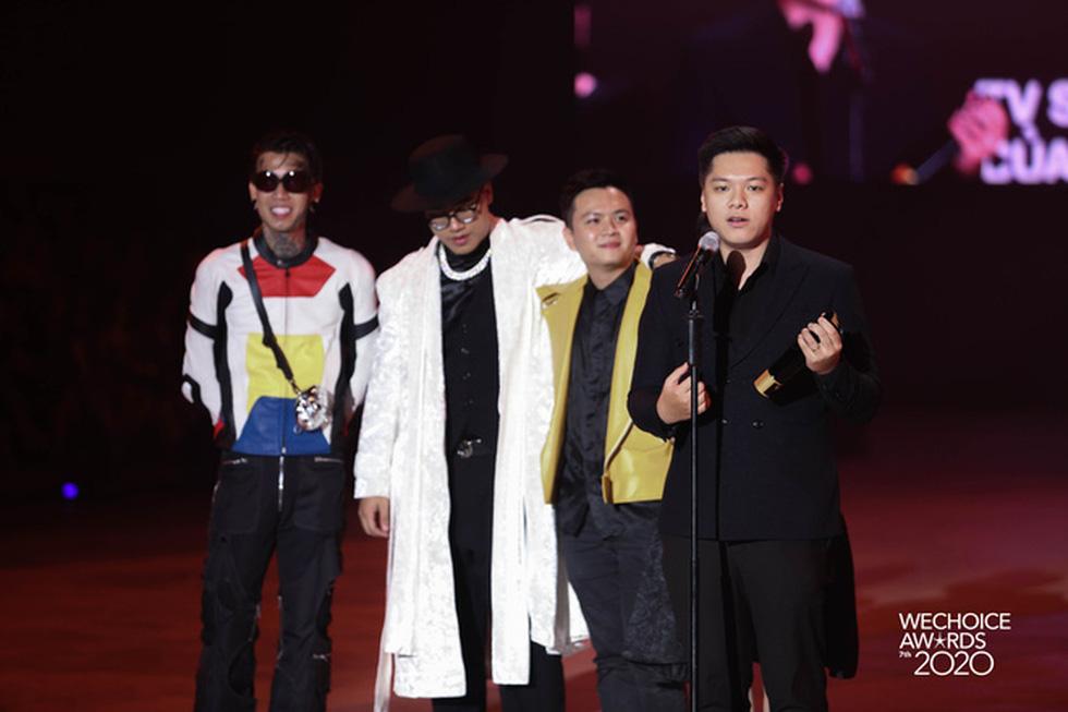 Thủy Tiên, Jack, MCK… được vinh danh tại WeChoice Awards 2020 - Ảnh 16.