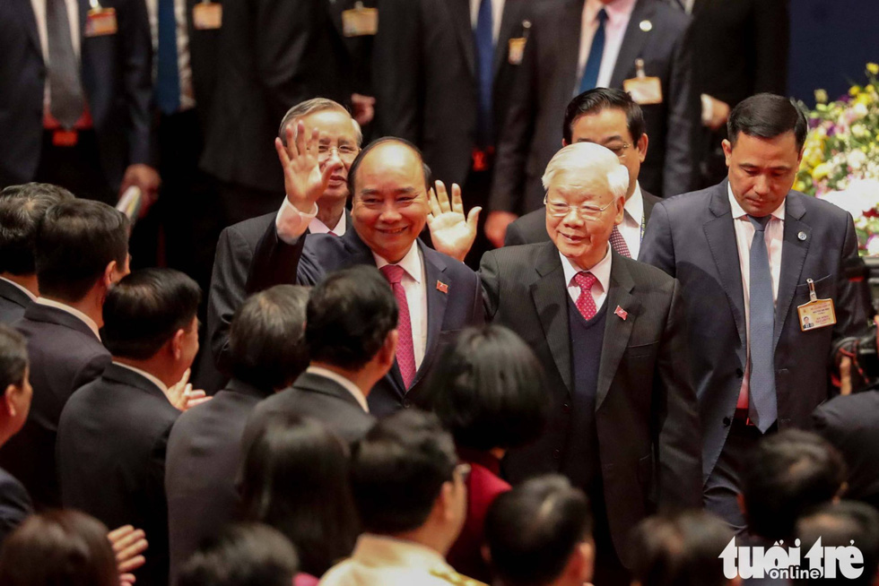 Chùm ảnh lãnh đạo Đảng, Nhà nước và các đại biểu tại phiên họp trù bị Đại hội Đảng XIII - Ảnh 1.