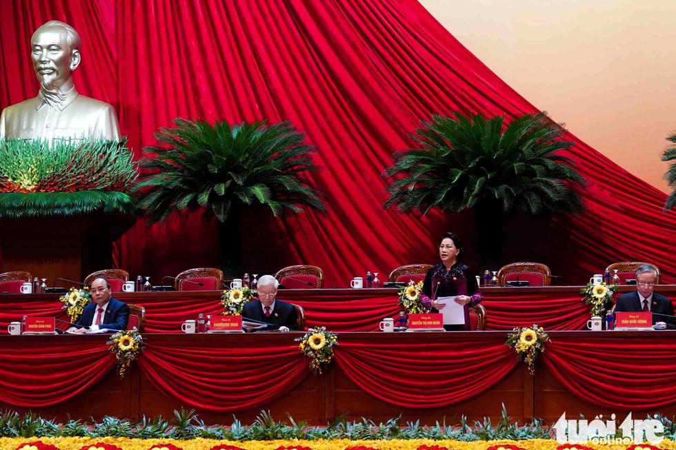 Chùm ảnh lãnh đạo Đảng, Nhà nước và các đại biểu tại phiên họp trù bị Đại hội Đảng XIII - Ảnh 10.