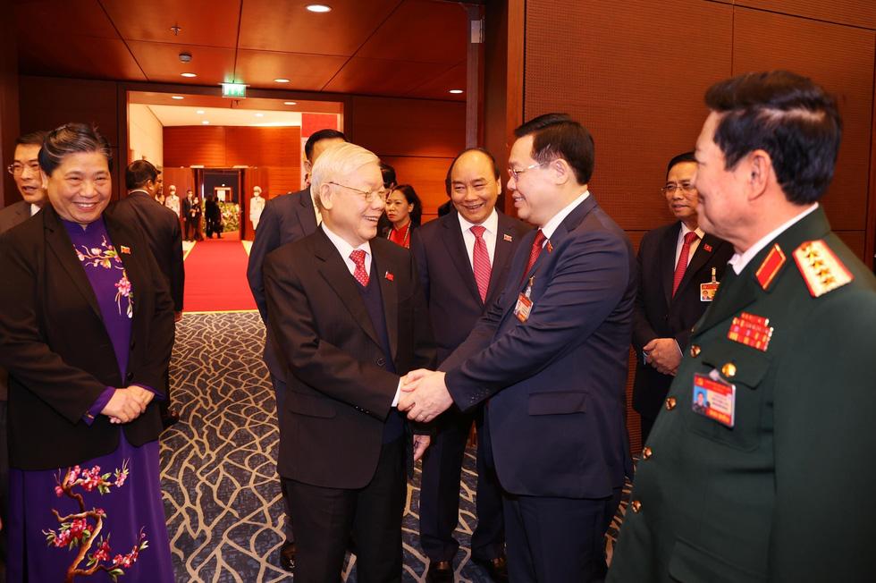 Chùm ảnh lãnh đạo Đảng, Nhà nước và các đại biểu tại phiên họp trù bị Đại hội Đảng XIII - Ảnh 5.