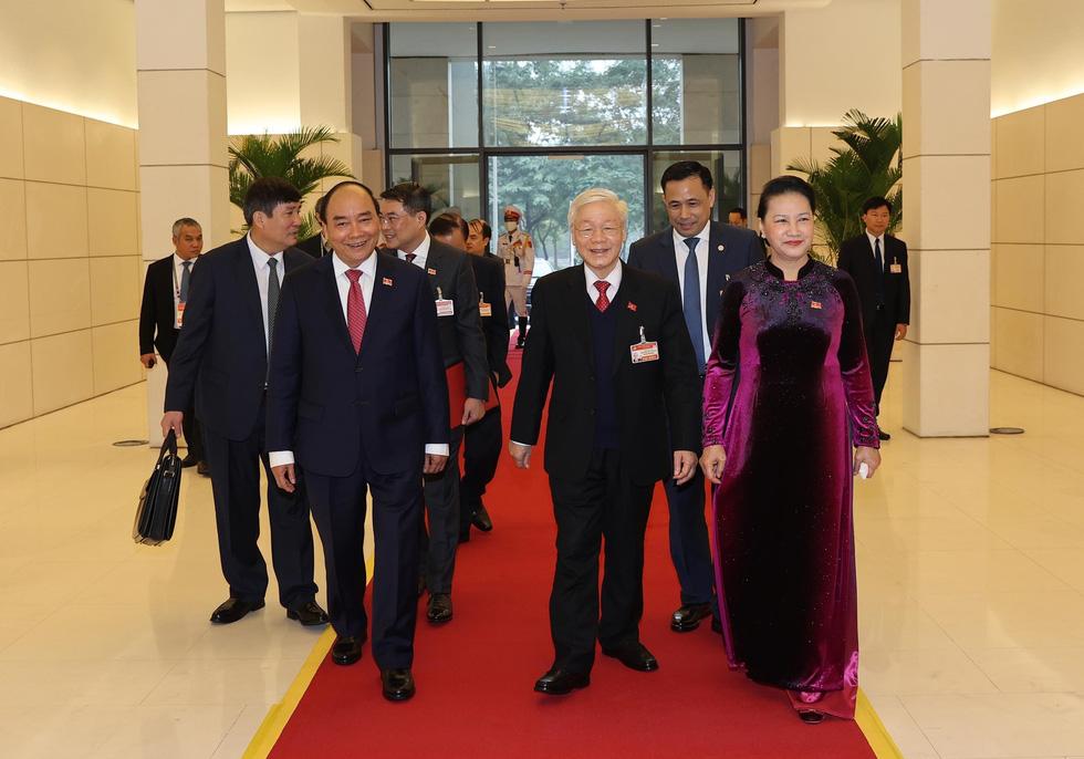 Chùm ảnh lãnh đạo Đảng, Nhà nước và các đại biểu tại phiên họp trù bị Đại hội Đảng XIII - Ảnh 6.