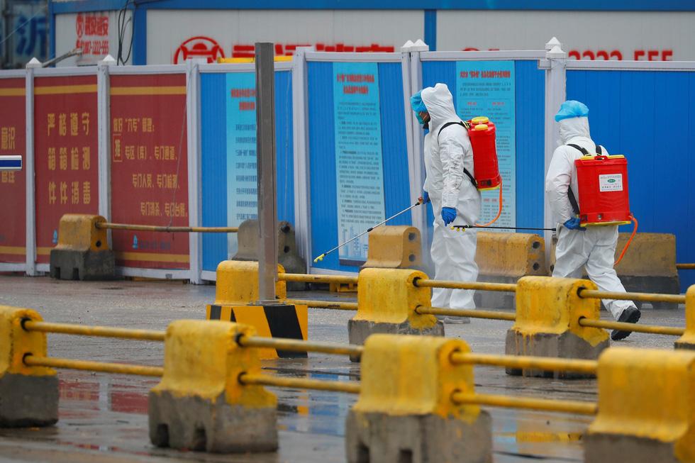 Nhóm chuyên gia WHO đến chợ hải sản ở Vũ Hán, bắt đầu điều tra nguồn gốc COVID-19 - Ảnh 4.