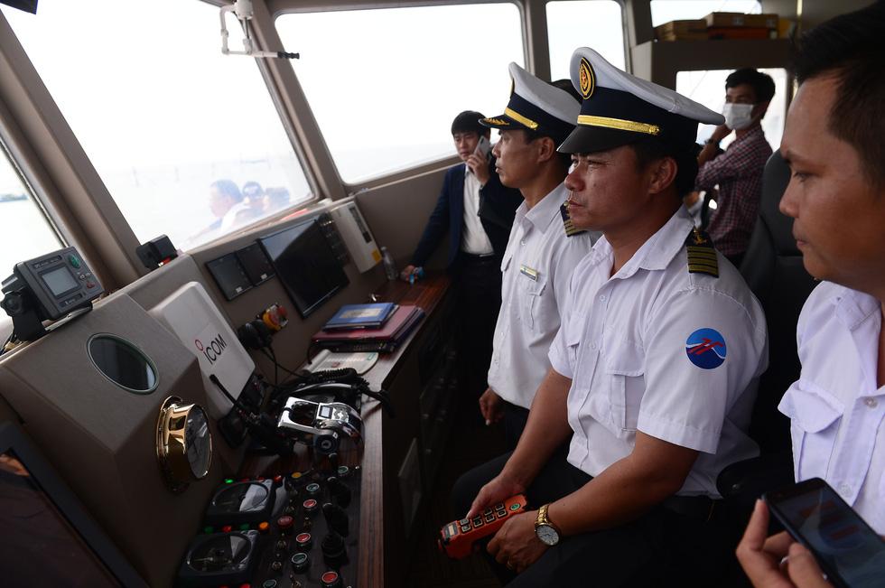 Tuyến phà biển Cần Giờ - Vũng Tàu ngày đầu khai trương - Ảnh 5.