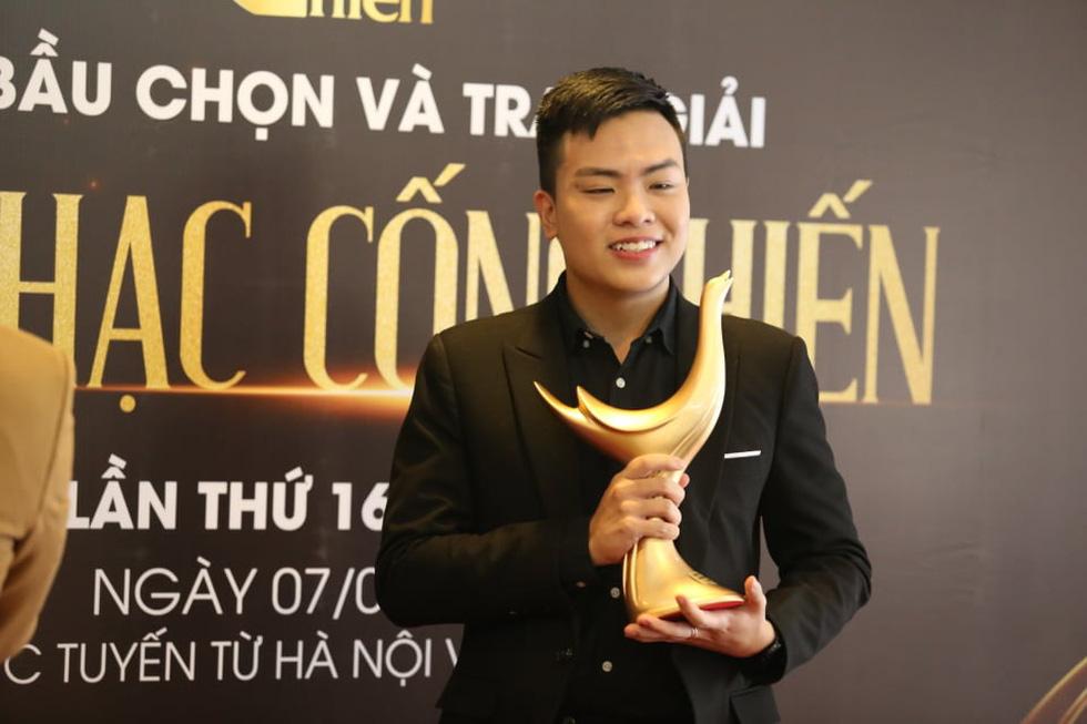 Giải Cống hiến 2021: Tùng Dương và Rap Việt thắng lớn - Ảnh 6.