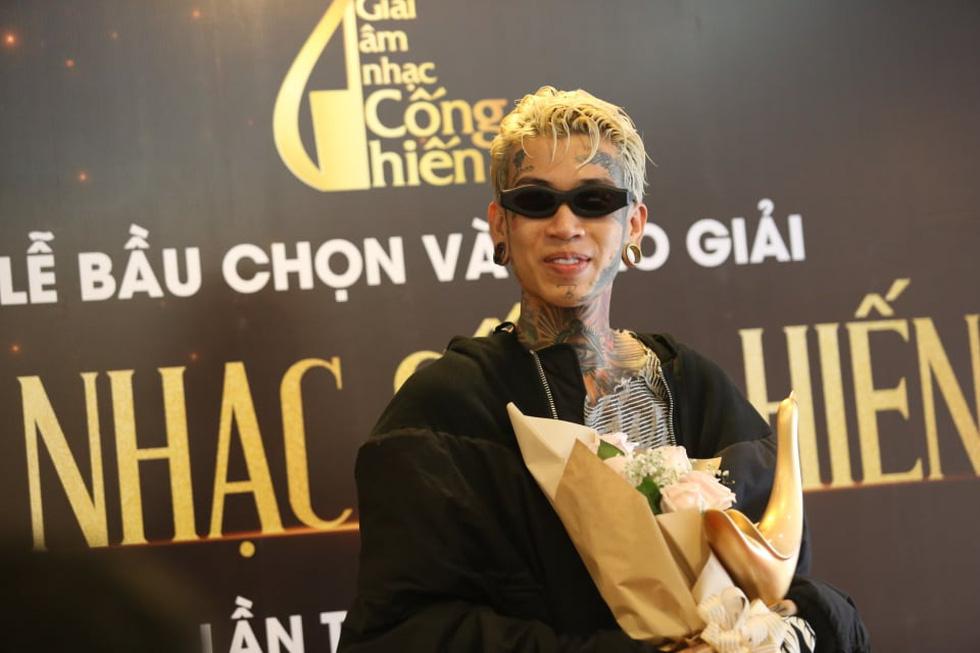 Giải Cống hiến 2021: Tùng Dương và Rap Việt thắng lớn - Ảnh 4.