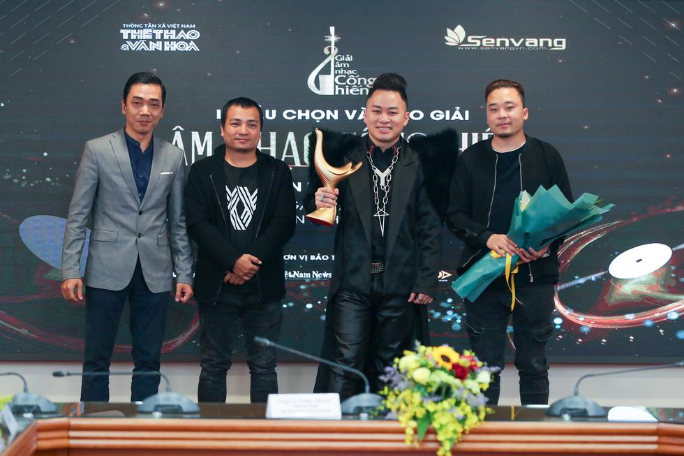 Giải Cống hiến 2021: Tùng Dương và Rap Việt thắng lớn - Ảnh 2.