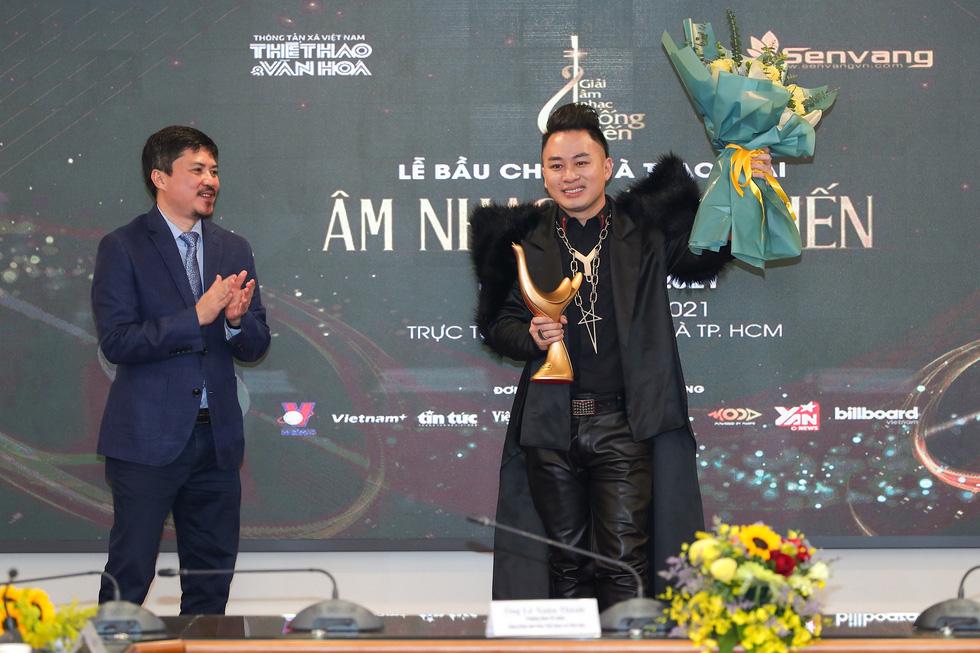 Giải Cống hiến 2021: Tùng Dương và Rap Việt thắng lớn - Ảnh 1.