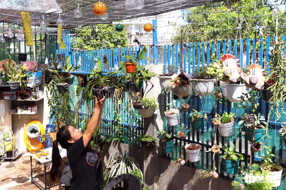 Khu vườn mini giữa lòng Sài Gòn - Ảnh 5.