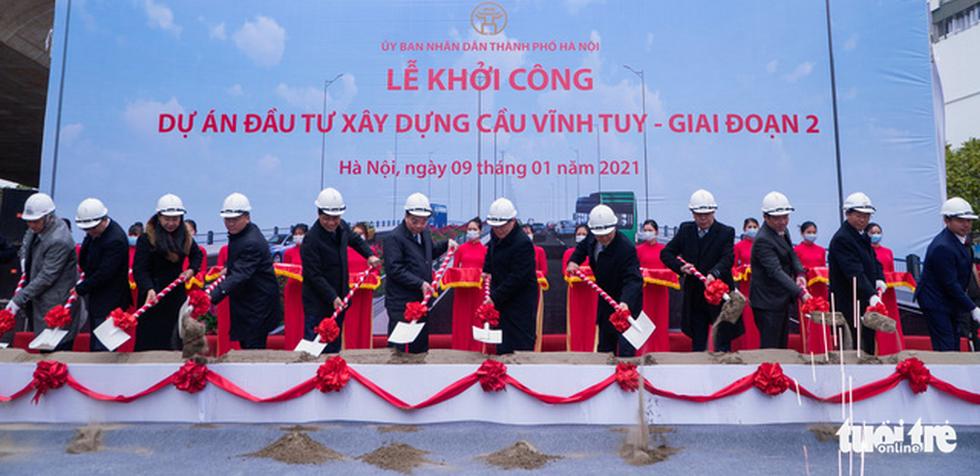 Hà Nội: Thông xe nút giao thông quan trọng phía Đông, khởi công cầu Vĩnh Tuy 2 - Ảnh 5.